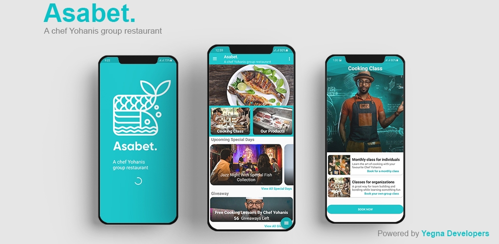 Asabet App Powered By Yegna Developers